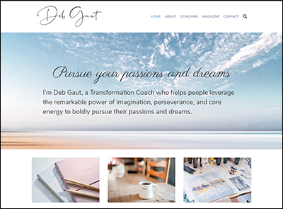 Deb Gaut Website